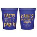 Taco 'Bout a Party Bachelorette Party Cups