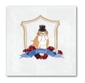 Dog Wedding Crest Napkins