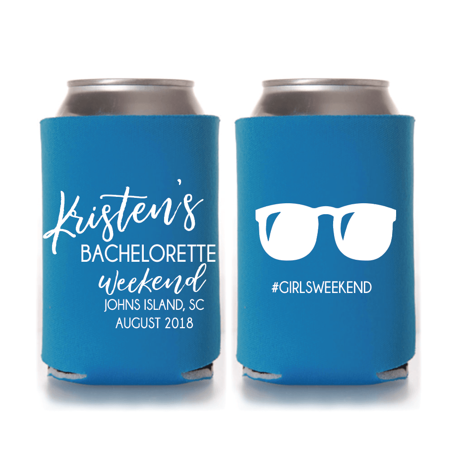 Good Times and Tan Lines Bachelorette Can Cooler