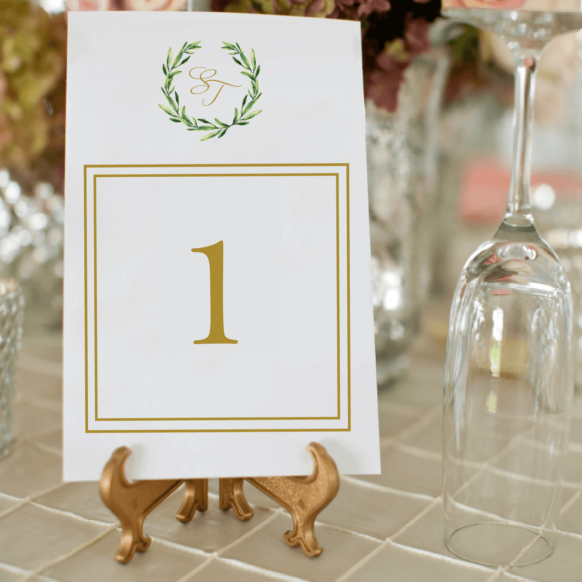 Table Numbers - Table Numbers | Piper Wedding Collection