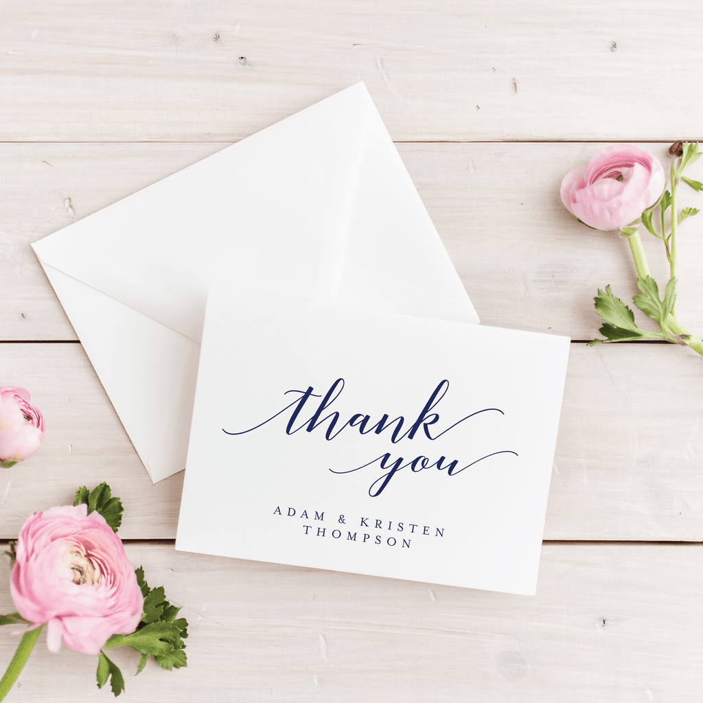 Thank You Card | The Sarah Wedding Collection