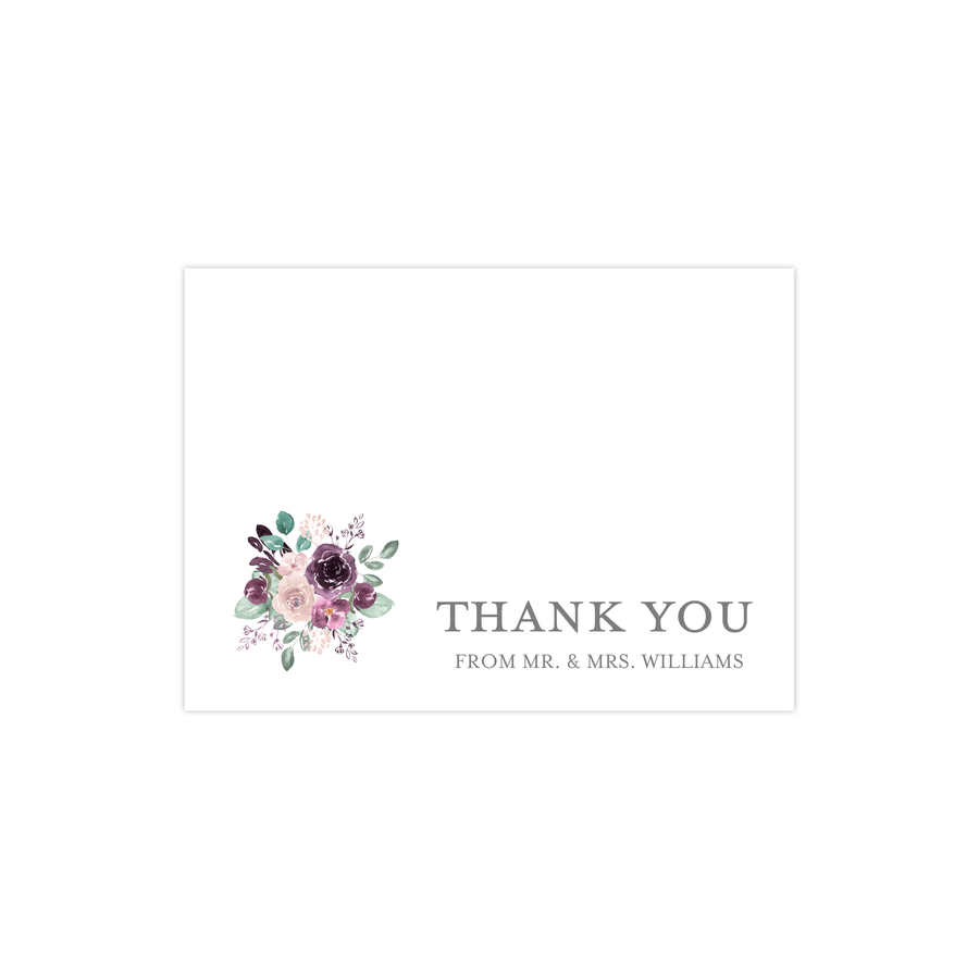 Wedding Thank You Card - Thank You Card | The Emily Wedding Collection