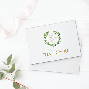 Wedding Thank You Card - Thank You Card | The Piper Wedding Collection