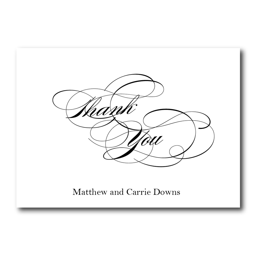 Wedding Thank You Card - Thank You Card | The Diana Wedding Collection