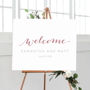 Welcome Prints - Welcome Wedding Print