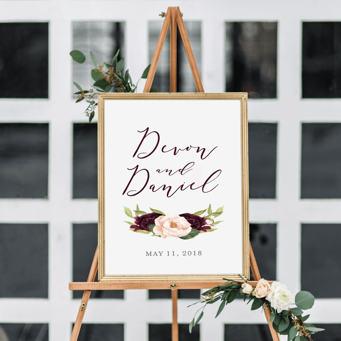 Welcome Prints - Wedding Welcome Print | Devon Wedding Collection
