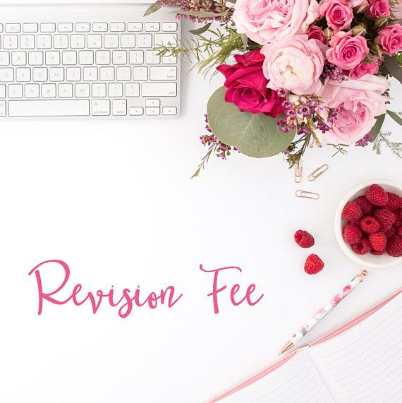 Revision Fee