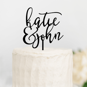 Personalized Wedding Cake Topper