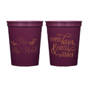 Future Mrs Fall Bridal Shower Stadium Cups