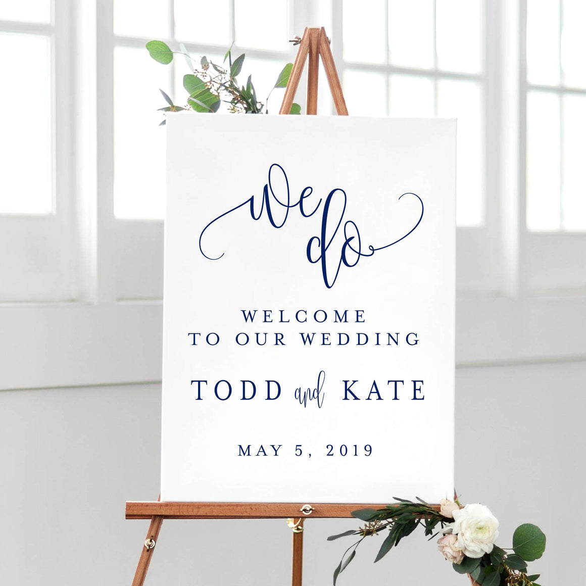 Welcome Prints - We Do - Wedding Welcome Print