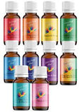 Essential oil chakra blends.