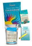 Turquoise Colour Bath Spa Kit