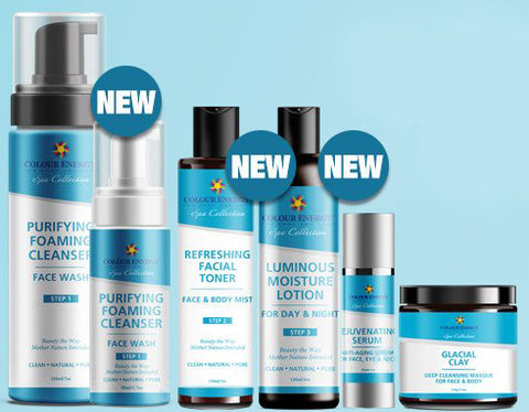Spa Collection Skin Care Line.