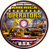 Operating Engineers Truck Decal