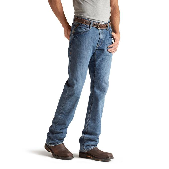 Ariat Fr M4 Low Rise Boot Cut- Flint Jeans #10012552