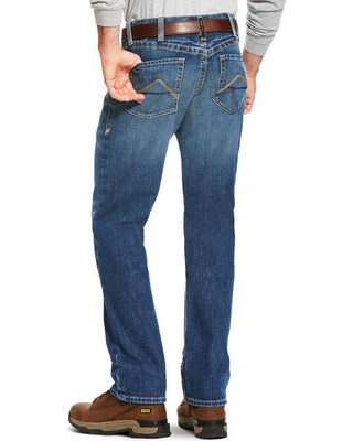 Ariat Men's Stiched Inline Alloy Fire Resistant Work Jeans #10022606(DISCONTINUED)