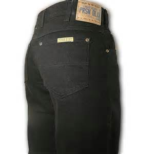 Prison Blues Heavy Duty Rinsed Basic Black Relaxed Fit Jeans #1031212