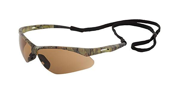 ERB Octane Camo Brown Anti-Fog Safety Glasses #15337