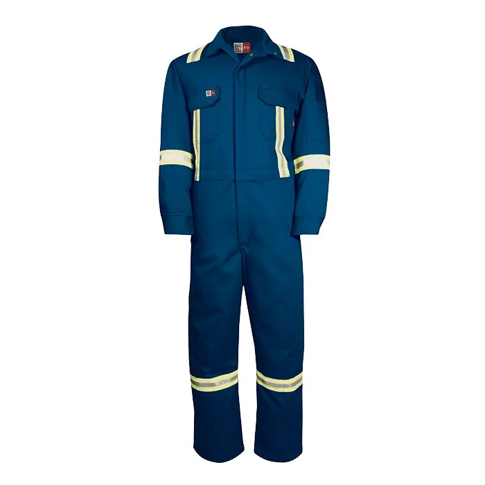 Big Bill  Flame-Resistant Superior+ Coverall with Reflective Material