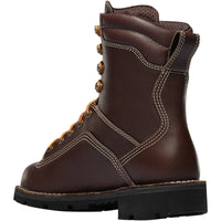 Quarry USA Brown Alloy Toe Work Boots #17307