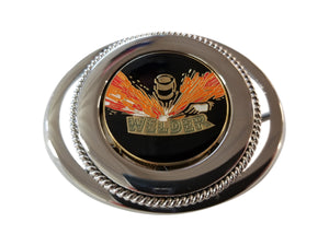 Union Welders Belt Buckle