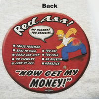 'Homer Has The Red Ass' T-Shirt