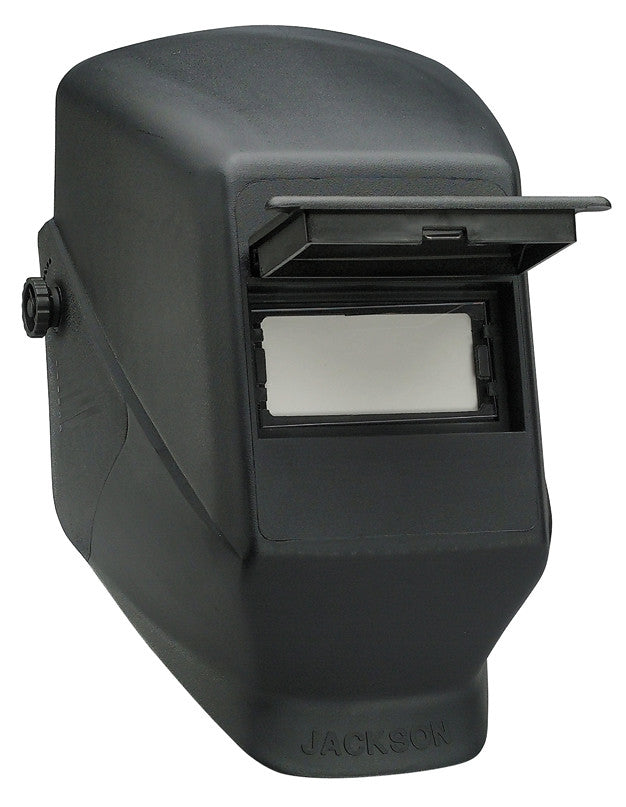 W10 SERIES Passive Welding Helmets are perfectly suited and priced for the cost conscious welder.  They offer a clear, unobstructed view of the weld puddle and come equipped with a shade 10 polycarbonate filter.  Ideal for students, hobbyist and inspectors.