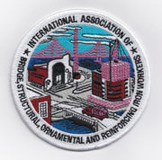 Ironworkers International Logo Emboidered Patch