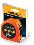 "Komelon ""The Tradesmen"" 25' Steel Power Tape #3725"