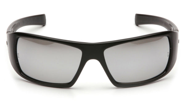 Goliath Silver Mirror Lens with Black Frame