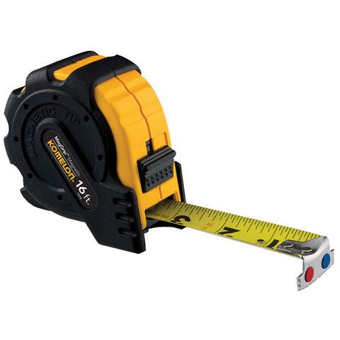 Komelon 30' Tape Measure with Magnetic Tip #7430
