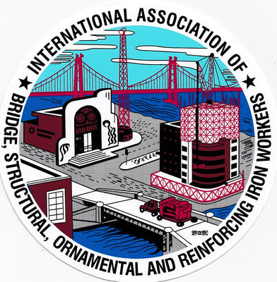 Ironworkers International Logo 23