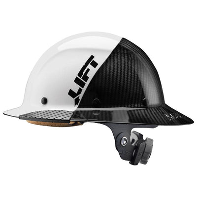 Lift Safety Dax Carbon Fiber 50/50 Full Brim Hard Hat