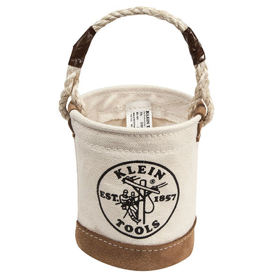 Klein Mini Leather-Bottom Bucket #5104MINI
