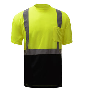 GSS Safety Black Bottom T-Shirt Class 2