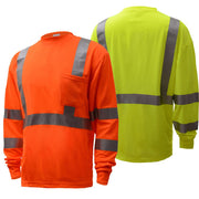 GSS Safety Class 3 Long Sleeve T-Shirt #5506/5505