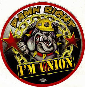 I'm Union Premium Sticker