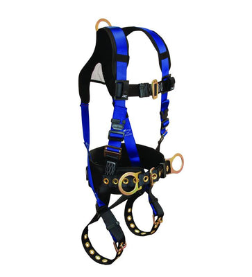 Falltech 7073B Contractor+ 3-D Full Body Harness #7073