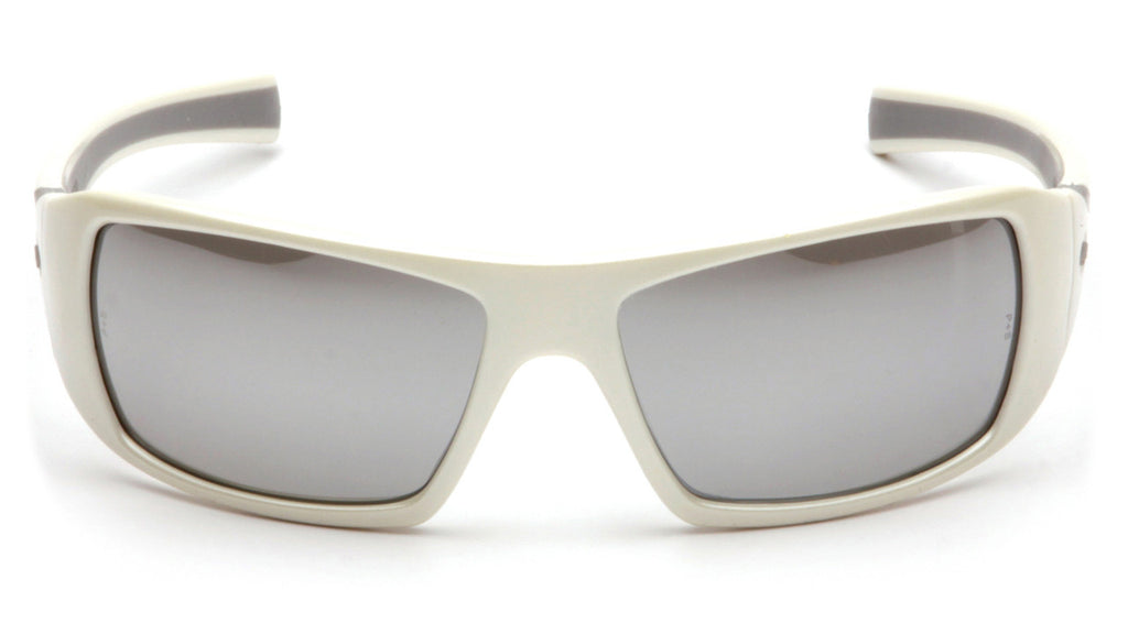 Goliath Silver Mirror Lens with White Frame