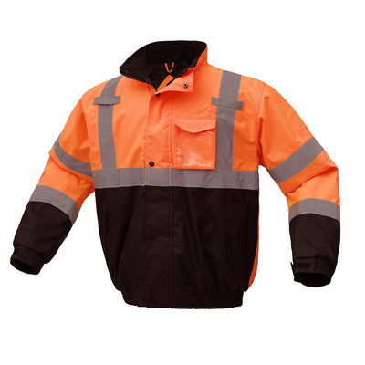GSS SAFETY Class 3 Waterproof Bomber Jacket HVO