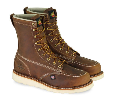 Thorogood Crazy Horse brown leather 8