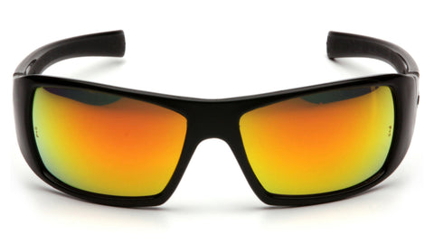Goliath Ice Orange Mirror Lens with Black Frame