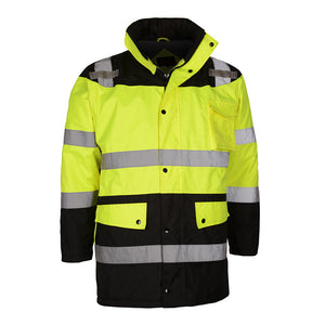 GSS SAFETY Class 3 Waterproof Fleece-Lined Parka Jacket