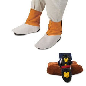 BEST WELDS Brand Spats # Q-15  Elastic top with 2 buckles on back of leg Sold per pair Velcro fasteners that ensure a secure fit for various shoe sizes