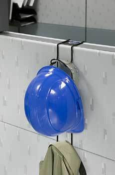 RackEm Hard Hat and Coat Cubicle Rack