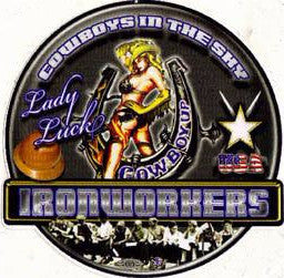 Lady Luck Truck Decal