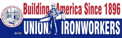Building America Bumper Sticker