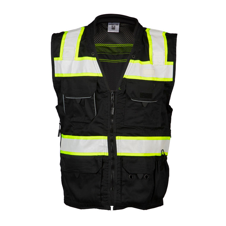 ML Kishigo Enhanced Visibility Professional Utility Vest #B500