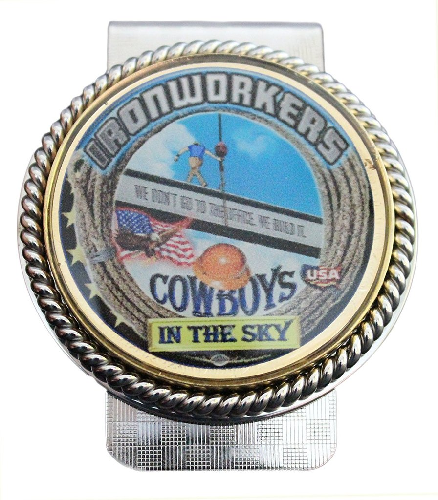 Ironworkers 'Cowboys in the Sky' Money Clip #BW-MC-CS