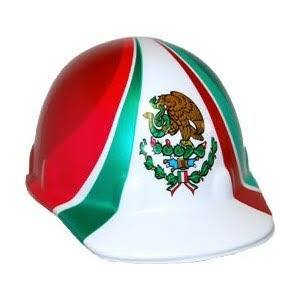 Fibre-Metal Pride of Mexico Hard Hat #E2RW00A285